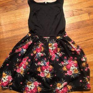 Modcloth floral winter dress